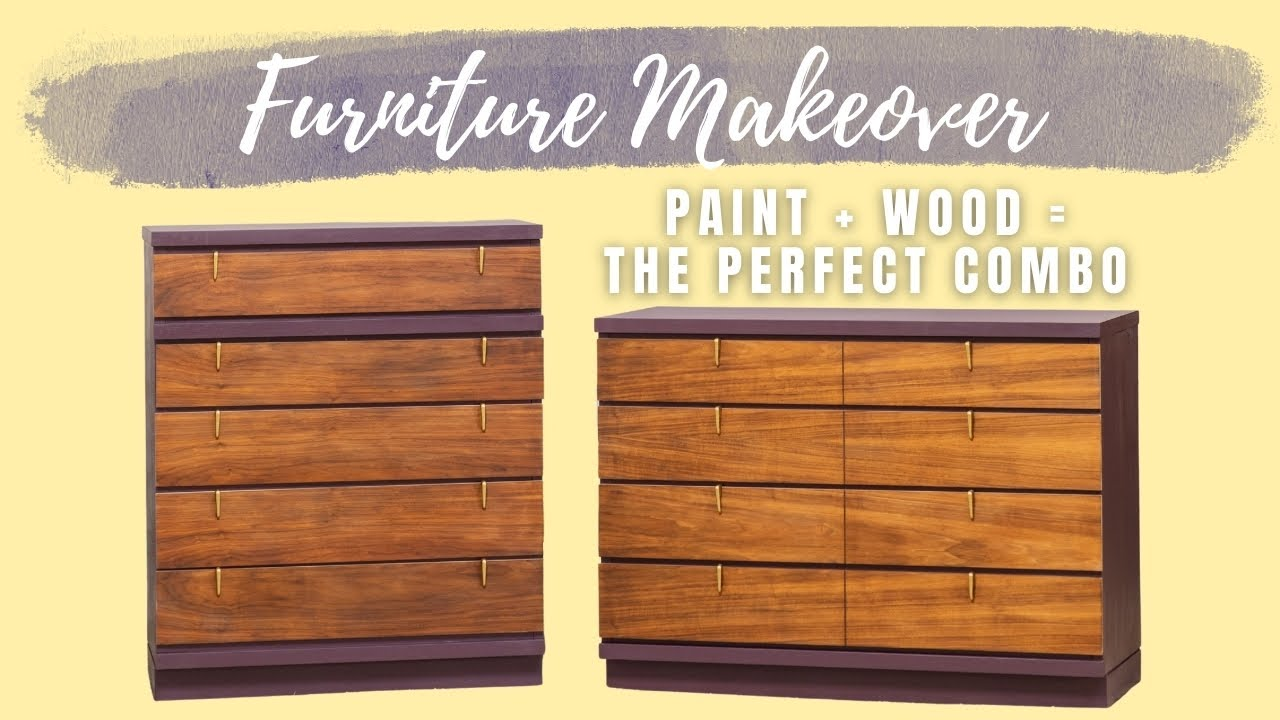 To Paint or to Sand Wood on Furniture Makeovers?!