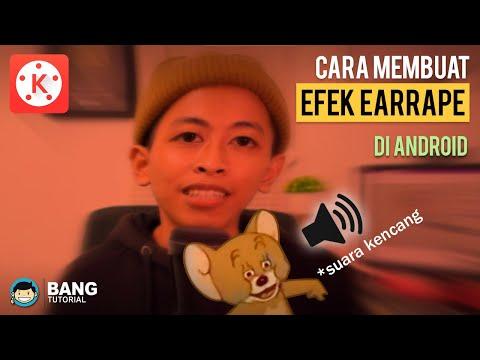 Cara Membuat Efek Video EarRape (Suara Kencang) Di Hp Android | KINEMASTER TUTORIAL #27