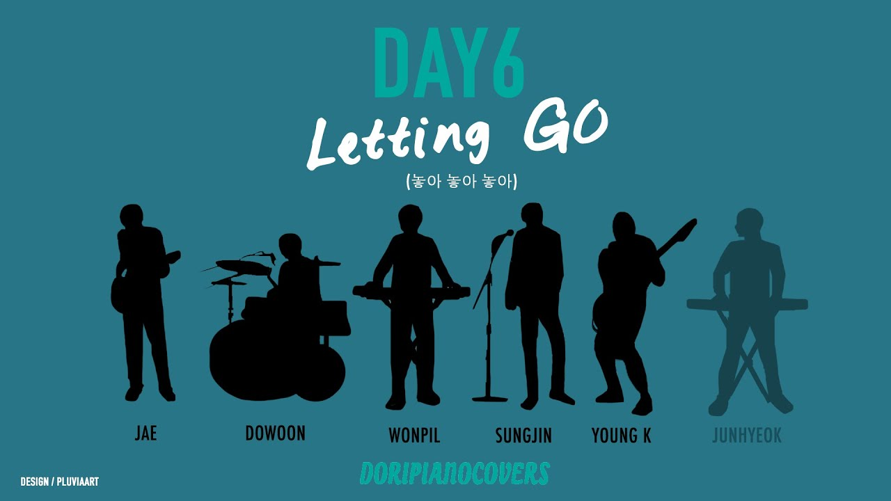 Piano Instrumental Day6 놓아 놓아 놓아 Letting Go Chords