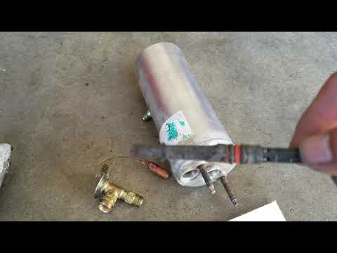 Ford freestar expansion valve and orifice tube location