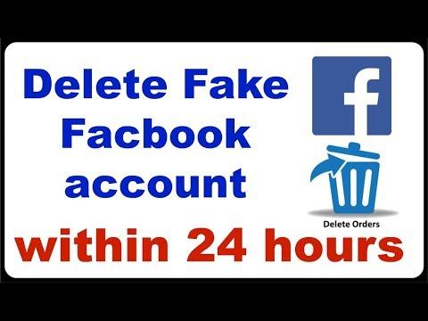 EASILY DELETE FACEBOOK FAKE ACCOUNT ID OF YOUR NAME  in 24 hours part 2