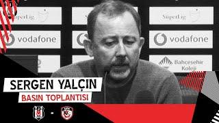 Gaziantep FK Galibiyeti Sonrası Teknik Direktörümüz Sergen Yalçın'ın Basın Toplantısı
