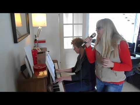 Titanium cover zang + piano