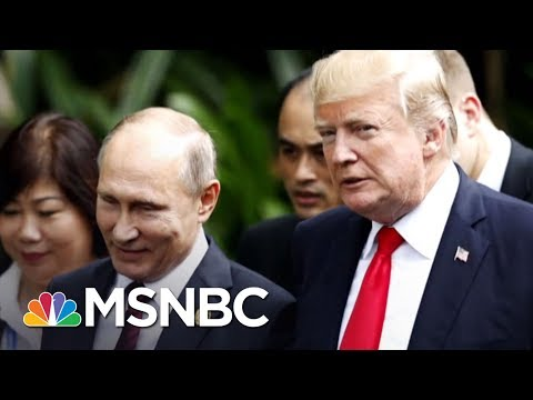 President Donald Trump Silent After Vladimir Putin\'s Nuclear \'Threat\' | The Last Word | MSNBC