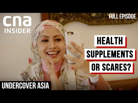 Malaysia's Health Supplements Boom: What Are The Side Effects? | Undercover Asia | CNA Documentary