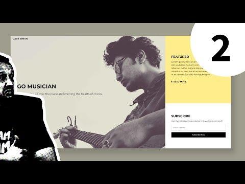 Create A Modern Web Design From Scratch - Full Process - Part 2 Of 2