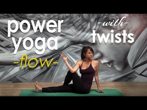 Power Yoga Workout with Twists ~ Cleanse Your Body, Cool Your Mind