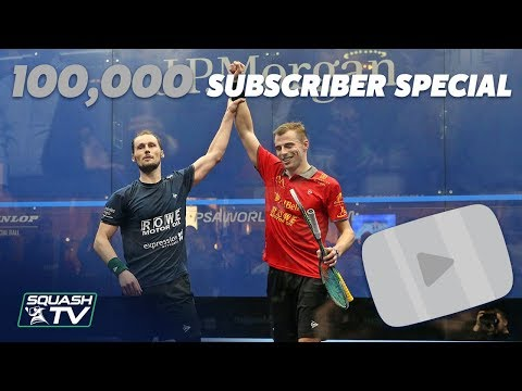 Squash: 100k Subscriber Special - Matthew V Gaultier ToC 2018 Full Match