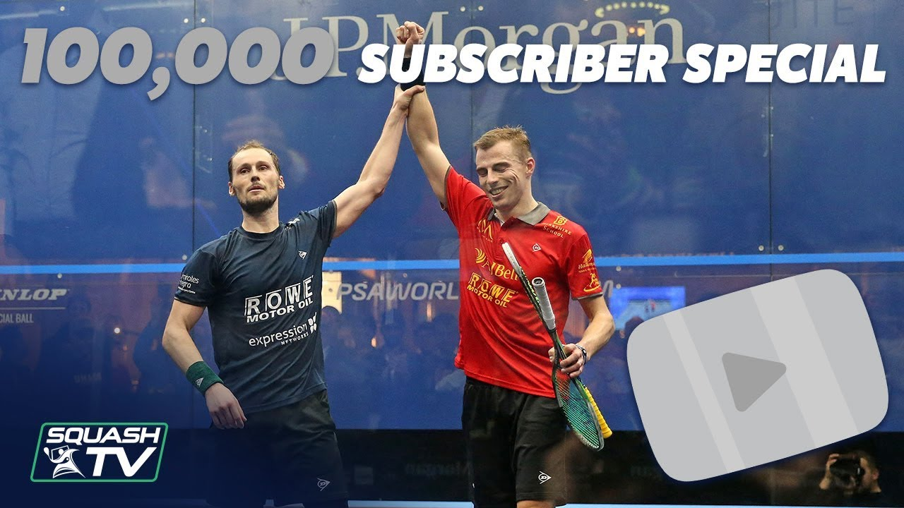 Squash 100k Subscriber Special Matthew V Gaultier Toc 2018 Full Match
