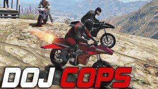 Dept. of Justice Cops #235 - Rocket Bike (Criminal)