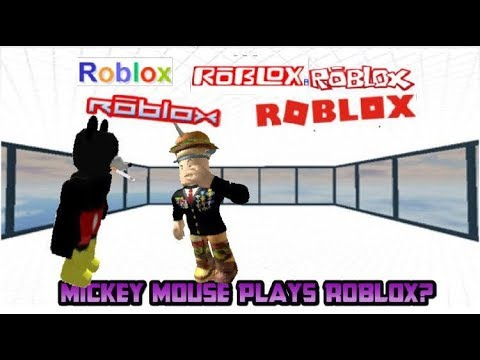Access Youtube - mickey plays roblox