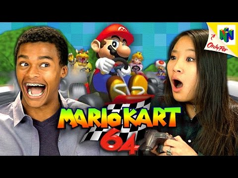 MARIO KART 64 (N64) (Teens React: Retro Gaming)