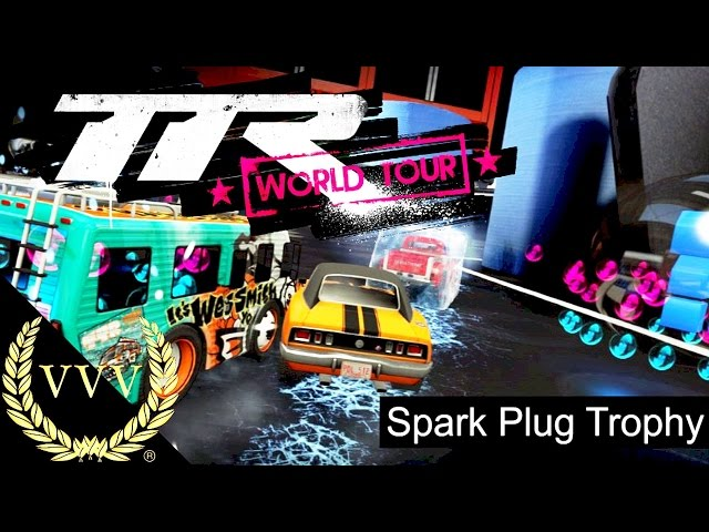 Table Top Racing World Tour   Spark Plug Trophy