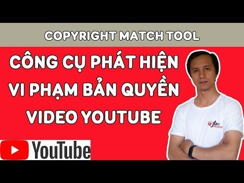 Công cụ tìm video trùng lặp trên Youtube Copyright Match Tool