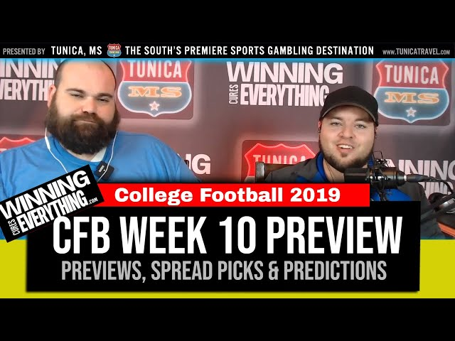 WCE: College Football Week 10 Preview & Spread Picks