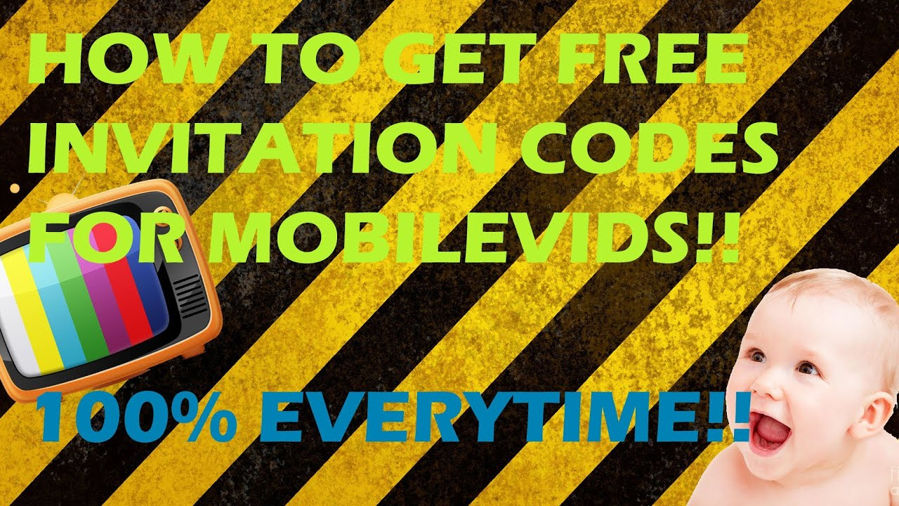 How To Get A Free Invitation Code For Moblievids NEW THE ONLY