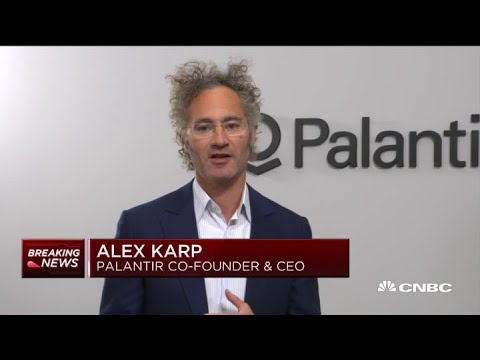 Palantir CEO Alex Karp on the decision to take the company public