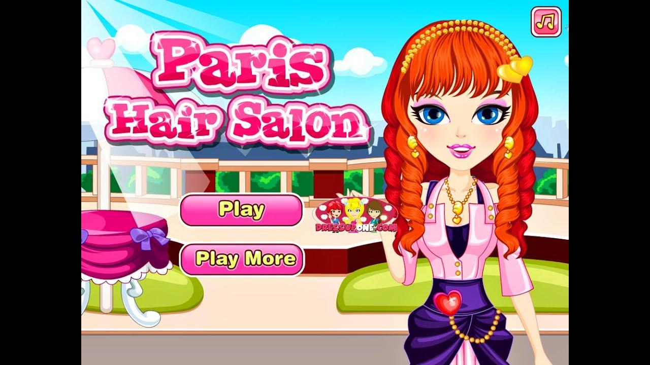 Paris Hair Salon  Online Hairstyle Fashion Games for Girls ...