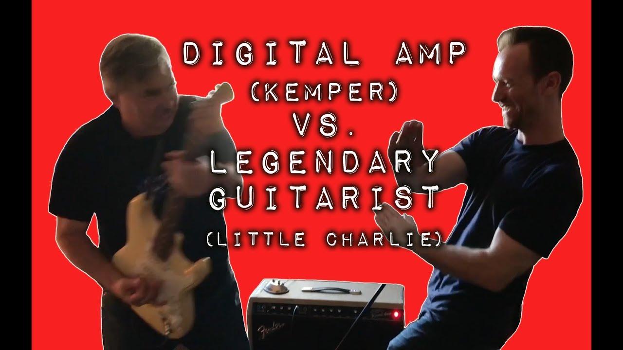 Digital Amp Kemper Vs Legendary Guitarist Little Charlie Youtube Morley Mark 1 Tremonti Power Wah Pedal Bh Photo