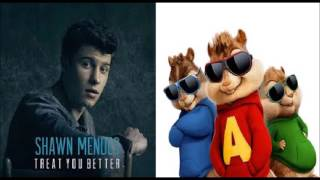 Treat You Better - Shawn Mendes (Chipmunks Version)