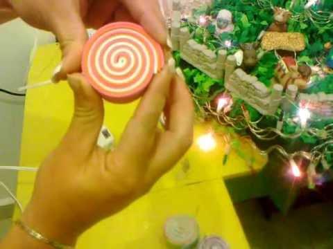 Adorno para arbol de navidad youtube for Adornos navidenos para el arbol
