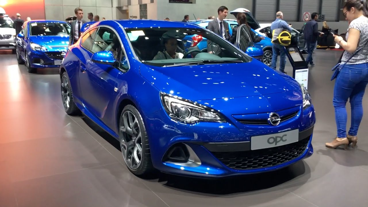 Opel Astra OPC 2017 In detail review walkaround Interior ...