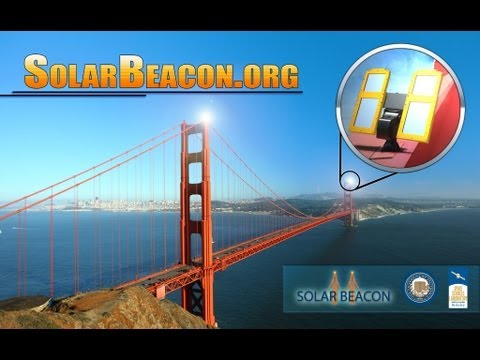 Golden Gate Bridge gets Birthday Candles with Solar Beacon