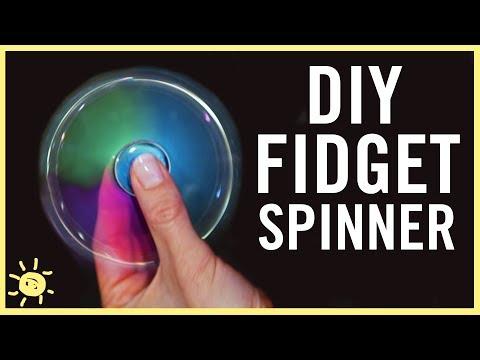 DIY | BEST Fidget Spinner (WITHOUT Bearings)