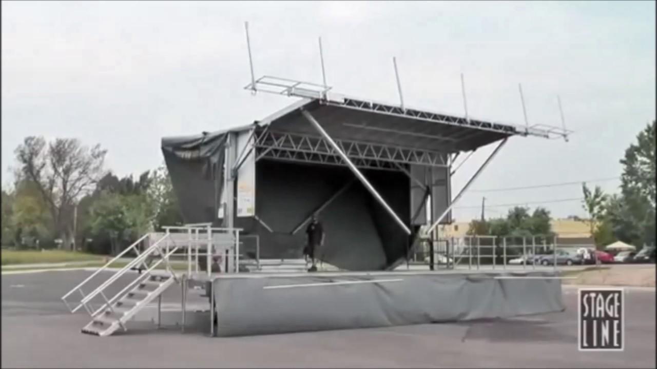 Stageline SL100 Mobile Stage