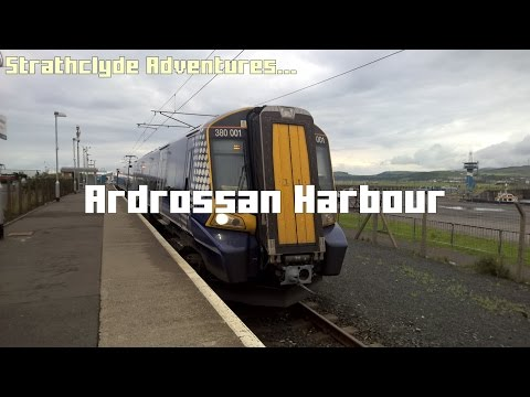 Strathclyde Adventures: Trains At Ardrossan Harbour