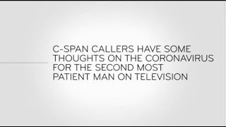 Last Week Tonight - And Now This: C-Span Callers Have Thoughts For the Second Most Patient Man on TV