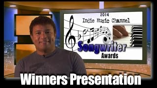 2014 Indie Music Channel Songwriter Awards Presentation
