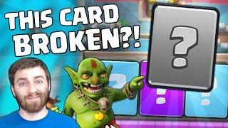 THIS NEW CARD BROKEN? IS IT BAD FOR THE GAME?! | Clash Royale NEW META DISCUSSION!