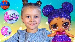 ЗОЛОТОЙ ШАР ЛОЛ - Огромный СЮРПРИЗ для Ярославы! LOL Surprise Dolls Видео для Девочек Часть 2