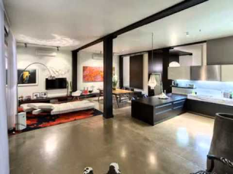 Loft home design decor ideas - YouTube