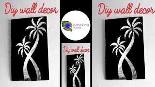 Aluminium paper craft / waste material crafts / art and craft / diy /Amazing pixies