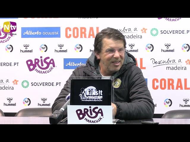 Manuel Machado na antevisão ao jogo com o Tondela: