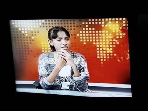 Wawancara Bersama Maria Victoria di TV Nasional Timor Leste (RTTL)