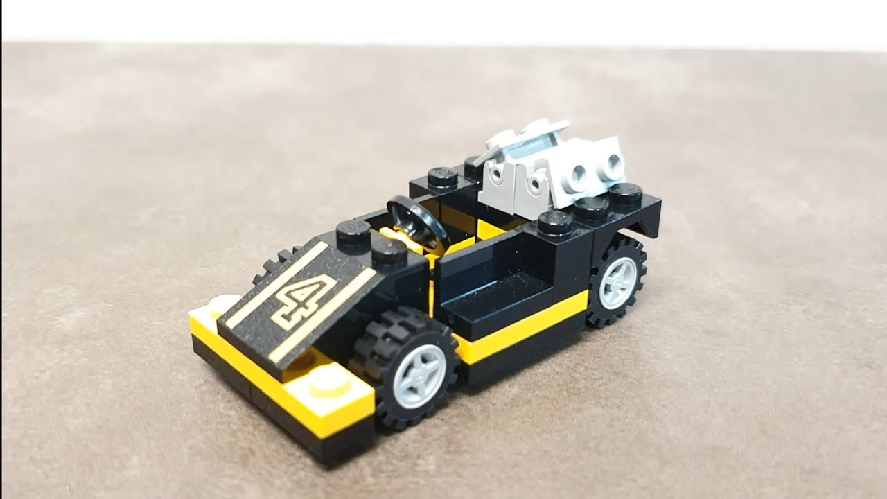 아재들의 갬성!! 올드 레고 1963 (LEGO 1693 Turbo Force Race Car)