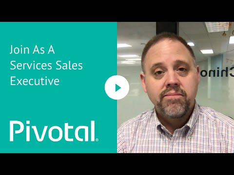 US - Bay Area - Join us as a Services Sales Executive