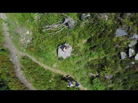 Andorra Mountains Drone Footage [4K]