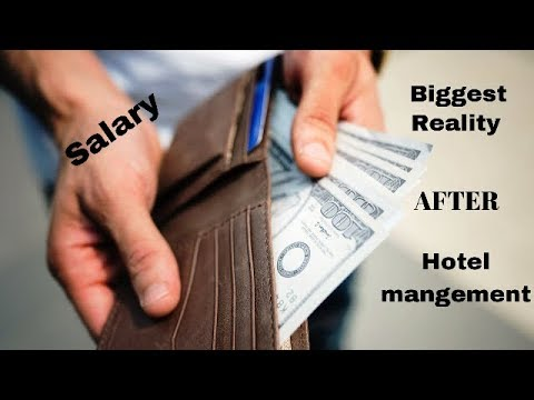 Salary In Hotel Management   Real Truth   Hotel Management