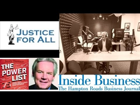 Justice for All Radio Show with Host Attorney George Yates & Guest Ed Power - Inside Business