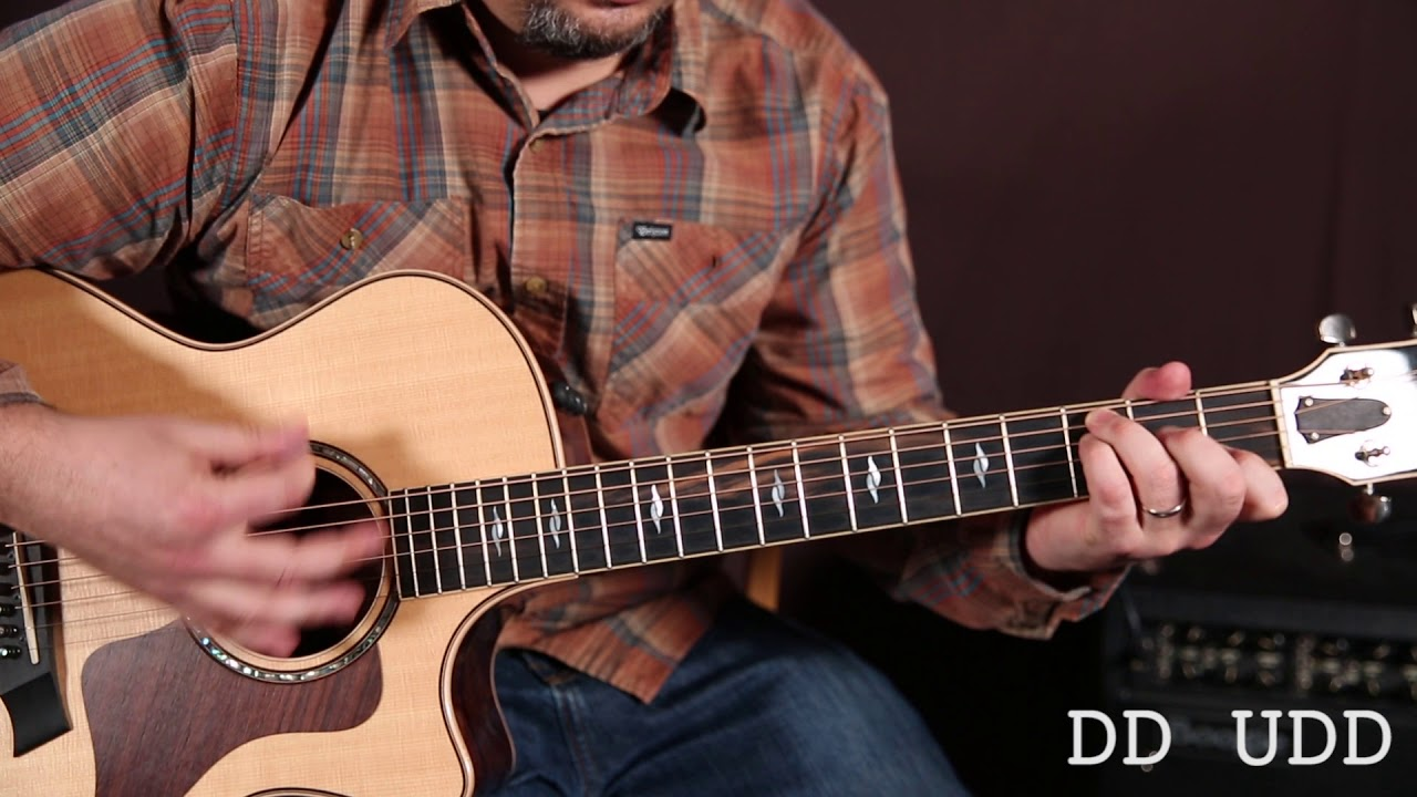 Learn Strumming Patterns for Acoustic Guitar