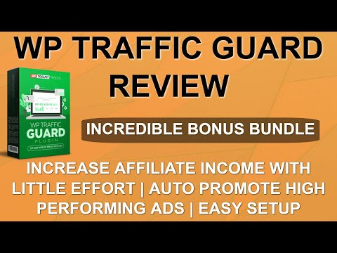 WP Traffic Guard Review | IN-DEPTH REVIEW + DEMO | CUSTOM BONUSES 💂 thumbnail