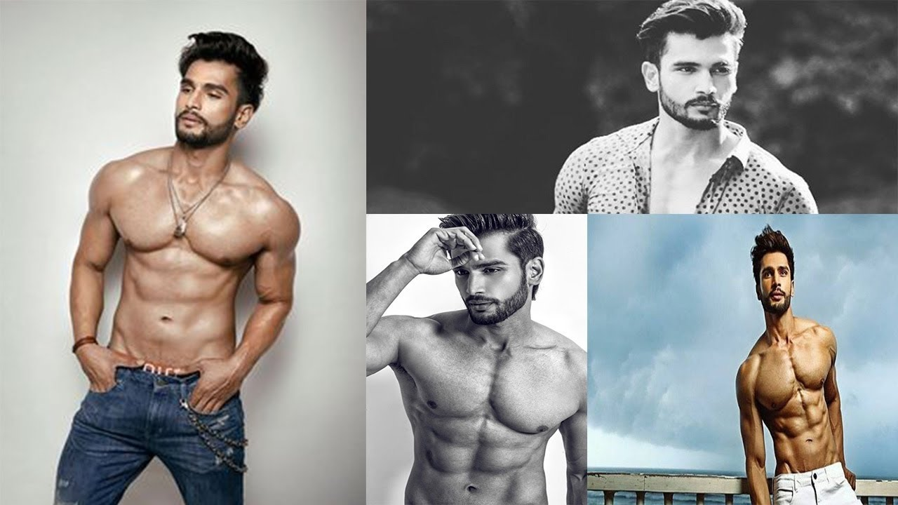 Mr India Rohit Khandelwal works out as he prepares for Mr