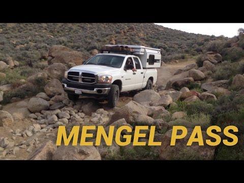 Mengel Pass with pop-up camper