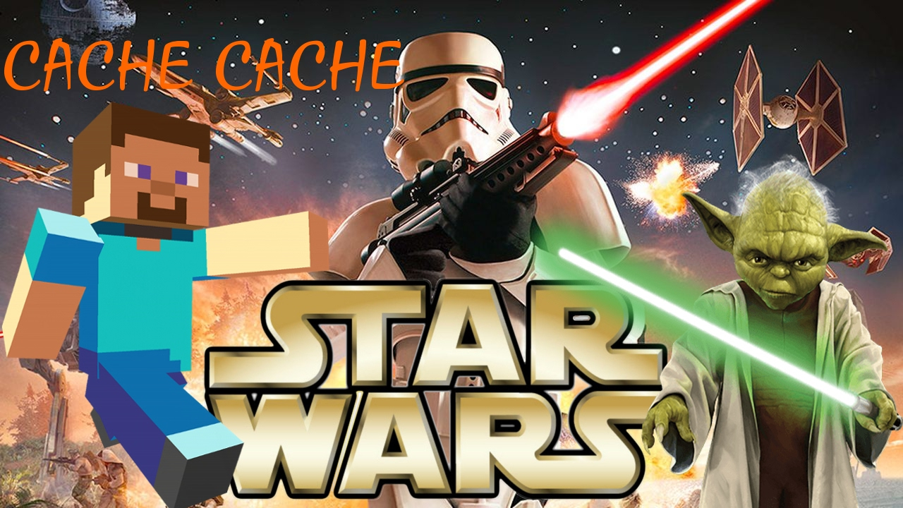 Camera Cachee Star Wars : Cache cache minecraft map star wars ps4 fr youtube