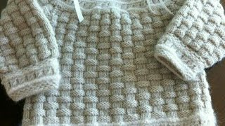 Easy Knitting pattern for all / knitting pattern for ladies cardigan, gents & baby sweater / 136