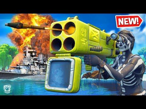 *FUNNY* BATTLESHIP Custom Gamemode in Fortnite Battle Royale! *SEASON 6* thumbnail